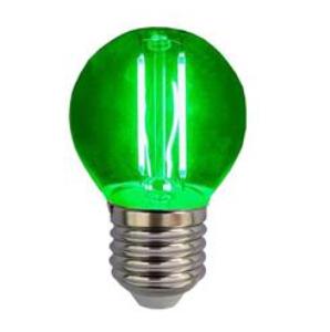Λάμπα LED Σφαιρική FILAMENT 3W E27 220-240V Πράσινο 80971