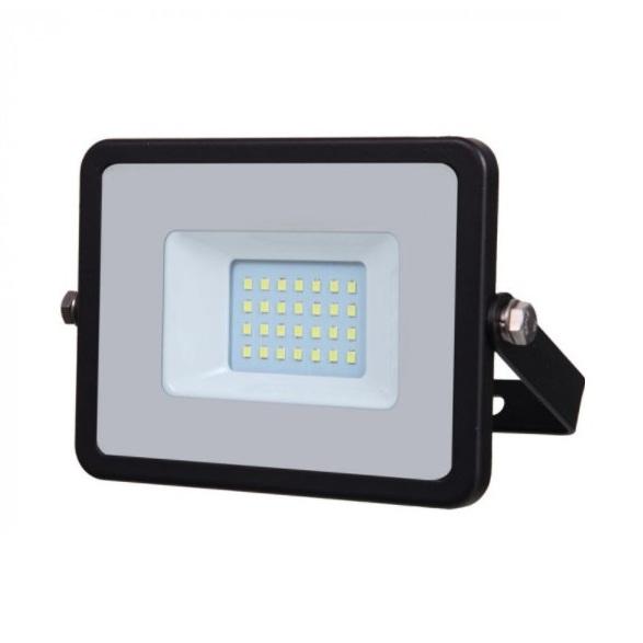 Προβολέας LED Samsung chip 10W Θερμό λευκό 3000K Μαύρο σώμα 439